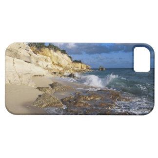 Karibiskt St Martin, klippor på Cupecoy sätta på iPhone 5 Case-Mate Fodraler