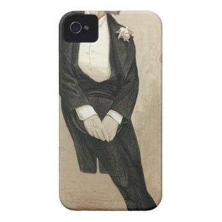 Karikatyr av Frederic Leighton av James Tissot iPhone 4 Case-Mate Skydd