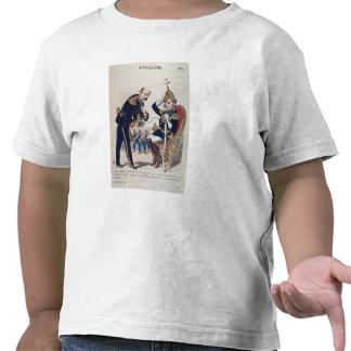 karikatyr av Kaiser Wilhelm av Prussia T-shirt