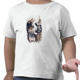 karikatyr av Kaiser Wilhelm av Prussia Tee Shirts