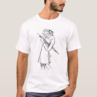 Karikatyr av Soren Aabye Kierkegaard T-shirt