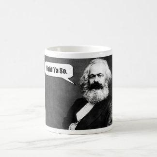 Karl Marx mugg