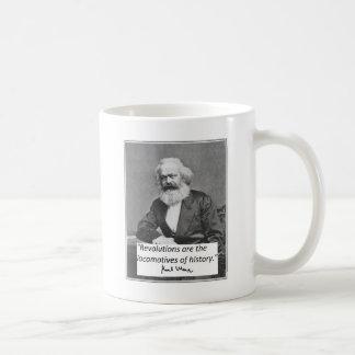 """Karl Marx mugg: """"Revolutioner """", Kaffemugg"""