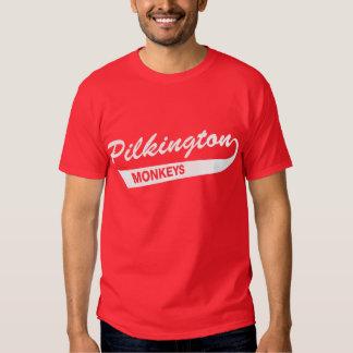 Karl Pilkington härmar den röda T-tröja Tröjor