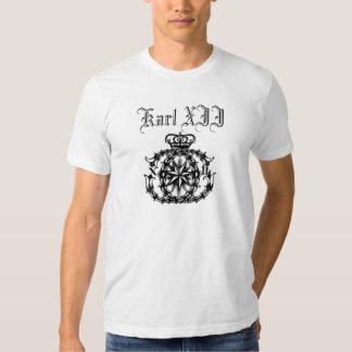 Karl XII Tee Shirts