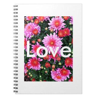 """""""Kärlek"""" anteckningsbok"""