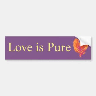 Kärlek är den rena bildekalet bildekal