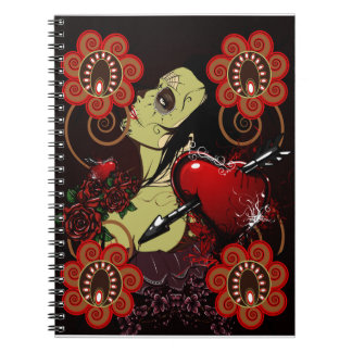 Kärlek är död anteckningsbok
