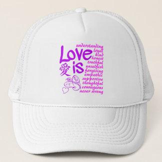 Kärlek är… hatten - välj färg keps