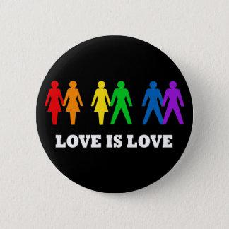 Kärlek är kärlek standard knapp rund 5.7 cm