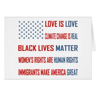 Kärlek är kärlekhälsningkortet hälsningskort