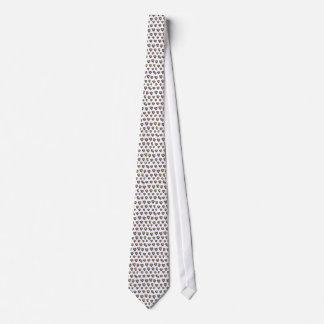 Kärlek är kärlekhjärtamönster slips