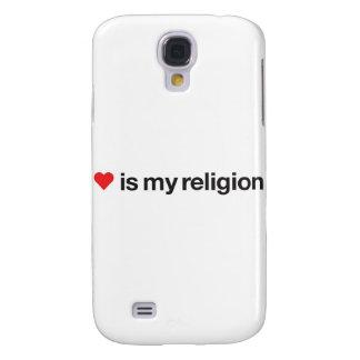 KÄRLEK ÄR MIN RELIGION GALAXY S4 FODRAL