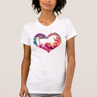 Kärlek av hästar t-shirts