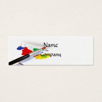 Kärlek av målningvisitkorten (smalan) litet visitkort