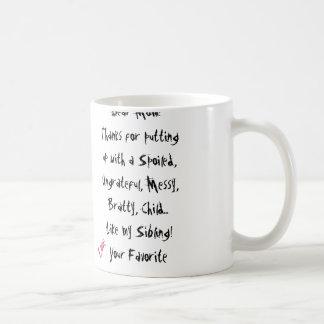 Kärlek din favorit! Mammamugg Kaffe Koppar