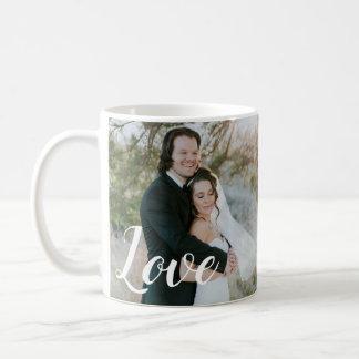 Kärlek för 2 foto kaffemugg