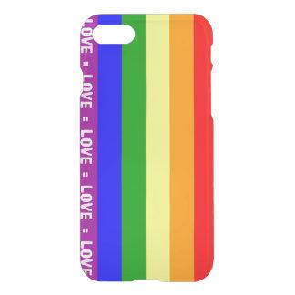 Kärlek- = för Clearly™ för iPhone 7 deflektor iPhone 7 Skal