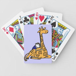Kärlek för giraff som DC leker kort Spelkort