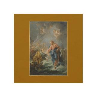 Kärlek för Jesus KristusLamb som målar herdevintag Trätavla