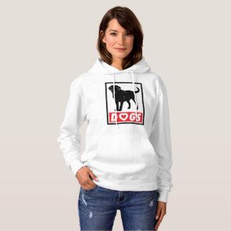 KÄRLEK FÖRFÖLJER kvinnahoodien T-shirts