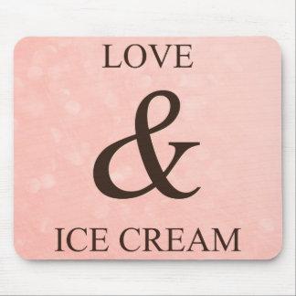 Kärlek & glass mus matta