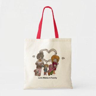 Kärlek gör en familj vid Ainsley--Toto Budget Tygkasse
