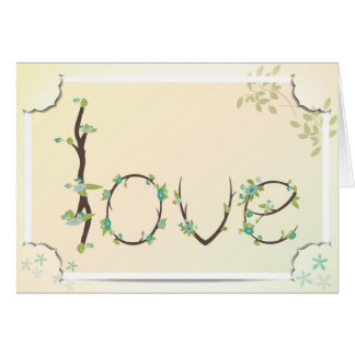 Kärlek i lagrar med finare tränga någon hälsningskort