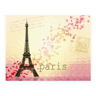 Kärlek i Paris Vykort