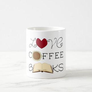 Kärlek kaffe, bokar kaffemugg