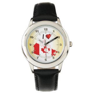 Kärlek Kanada Armbandsur