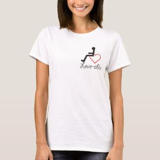 Kärlek-Kompetent utslagsplats T-shirt