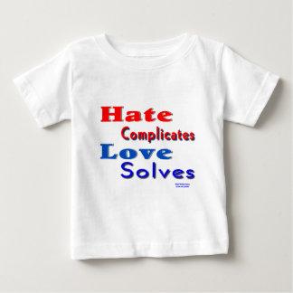 Kärlek löser tee shirts