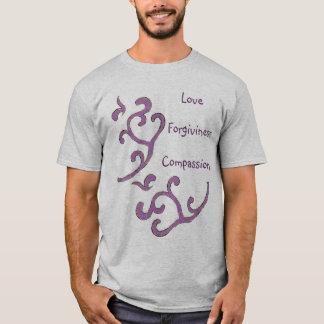 Kärlek-Medkänsla-Förlåtelse skjorta, organiskt T-shirt