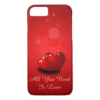 Kärlek och fodral för hjärtaiPhone 7