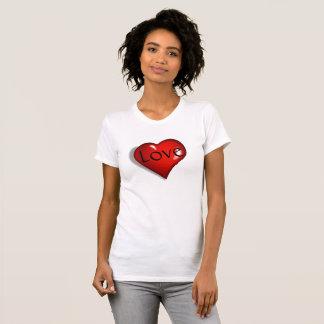 Kärlek och hjärtadam tröja