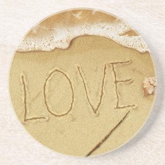 kärlek på sanden underlägg