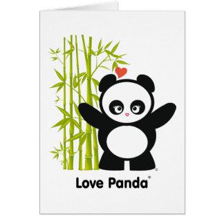 Kärlek Panda® Hälsningskort