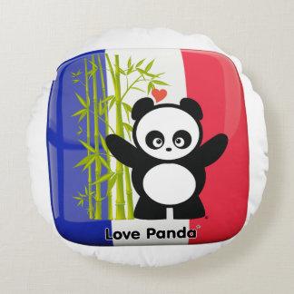 Kärlek Panda® Rund Kudde