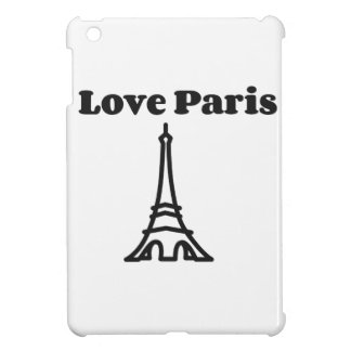Kärlek Paris iPad Mini Mobil Fodral