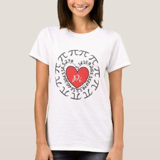 Kärlek Pi 3,14 - Pi-dag T-shirt