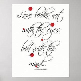 Kärlek ser inte med ögonen poster