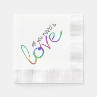 Kärlek Servetter