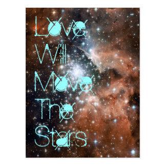 Kärlek ska flyttningvykort vykort