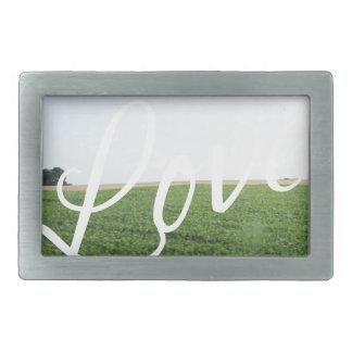 Kärlek skrivar den gräs- ängen för