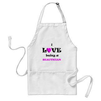 Kärlek som är Beautician (2) Förkläde