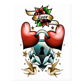 Kärlek Vykort