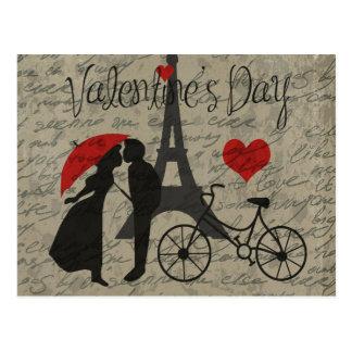 Kärlekbrev - Paris Vykort