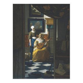 Kärlekbrev vid Vermeer Vykort