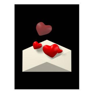 Kärlekbrev Vykort